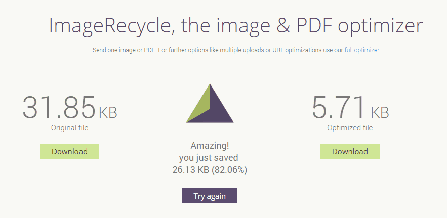 ImageRecycle image pdf compress